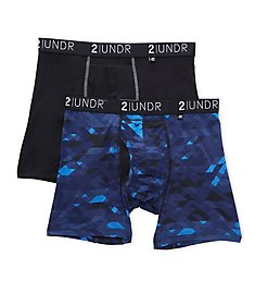 2UNDR Swing Shift 6 Inch Boxer Brief - 2 Pack 2U012B