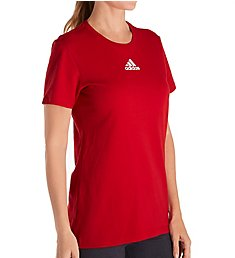 Adidas Amplifier Cotton Short Sleeve Crew Neck Tee 12HL