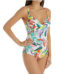 Anita Leilani Ebony Wire Free One Piece Swimsuit 7761