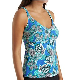 Anita Deep Sea Noemi Underwire Tankini Swim Top 8860