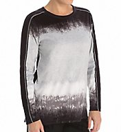 Anne Klein Luxe Lounge Long Sleeve Top 8410466