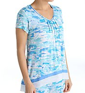 Anne Klein Montauk Short Sleeve Top 8410492