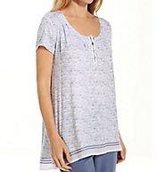 Anne Klein Spring Forward Short Sleeve Top 8510432