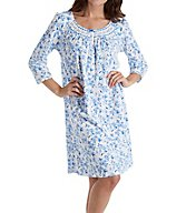 Aria Ditsy 3/4 Sleeve Short Nightgown 8017803