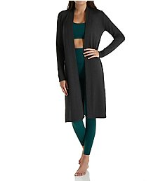 Beyond Yoga Cozy Fleece High Slits Long Duster Cardigan CF2116
