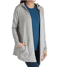 Beyond Yoga Cozy Fleece Love Hooded Swing Back Cardigan CF2121