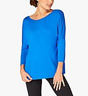 Beyond Yoga Twist of Fate Slinky Modal Reversible Pullover LK7335
