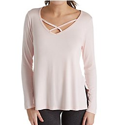 Beyond Yoga Slinky Modal Jersey Cross Me Once Pullover LK7497