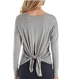 Beyond Yoga Draw the Line Slinky Modal Jersey Tie Back Top LK7551