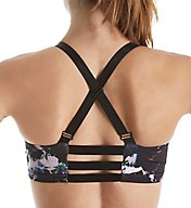 Beyond Yoga Lux Print Triple Strap Crossed Back Sports Bra LP8083