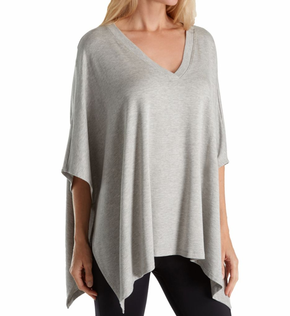 Beyond Yoga Modal Baby Terry V-Neck Poncho MB7351