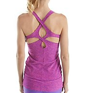 Beyond Yoga Spacedye Performance Cut Out Tank with Shelf Bra SD4173