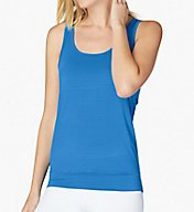 Beyond Yoga Scenic Route Breezy Banded Hem Open Back Tank SJ4217