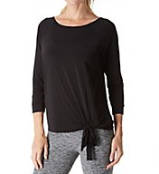 Beyond Yoga True Stripes 3/4 Sleeve Pullover SJ7353