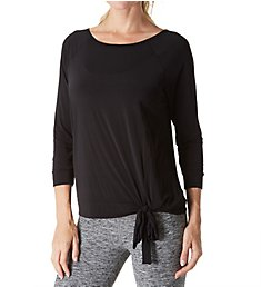 Beyond Yoga True Stripes 3/4 Sleeve Pullover SJ7353