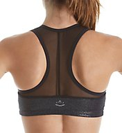 Beyond Yoga Shimmer And Shine Mesh Racerback Sports Bra SO8081