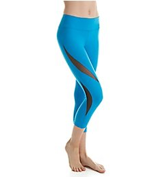 Beyond Yoga Supplex Double Panel Mesh Capri Legging SP3166