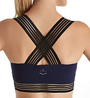 Beyond Yoga Supplex Sheer Illusion Racerback Sports Bralet SP8100