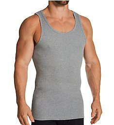 Bread and Boxers Ribbed Organic Cotton Stretch Slim Fit Tank 105
