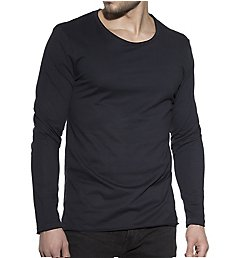 Bread and Boxers Relaxed Fit Organic Cotton Long Sleeve T-Shirt 113