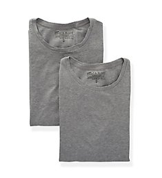 Bread and Boxers Organic Cotton Stretch Slim Fit T-Shirts - 2 Pack 121
