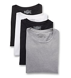 Bread and Boxers Organic Cotton Stretch Crew Neck T-Shirts - 4 Pack 141