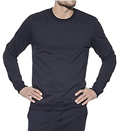 Bread and Boxers Tailored Slim Fit Cotton Sweatshirt 414