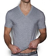 C-in2 Core Basic 100% Cotton V-Neck T-Shirt 4110