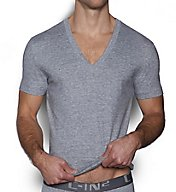 C-in2 Core Deep V-Neck Pima Cotton T-Shirt 4111