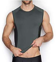 C-in2 Grip Athletic Stretch Sleeveless Crew 4717
