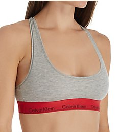 Calvin Klein Modern Cotton Unlined Racerback Bralette F3785