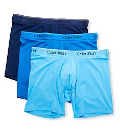 Calvin Klein Big & Tall Micro Stretch Boxer Briefs - 3 Pack NB2928