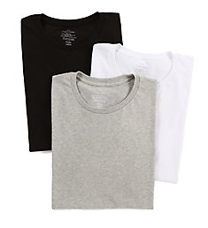 Calvin Klein Cotton Classic Short Sleeve Crew T-Shirts - 3 Pack U4001