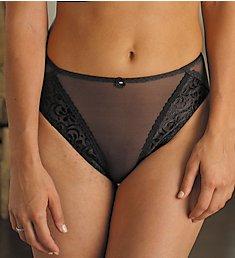 Carnival Tuxedo Lace High Cut Bikini Panty 3057