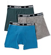 Champion Cotton Performance Boxer Briefs - 3 Pack CHCR