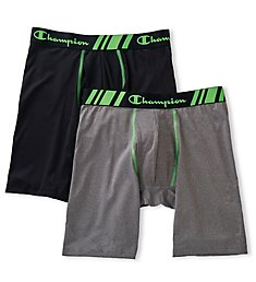 Champion Tech Performance Long Boxer Briefs - 2 Pack CHTL