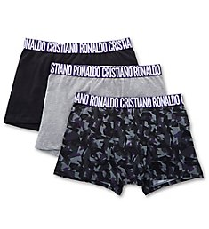 CR7 Essential Cotton Stretch Trunks - 3 Pack 8110-49