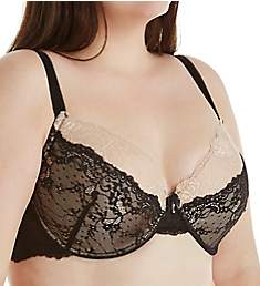 Creme Bralee Bettina Lace Padded Underwire Bra 12313