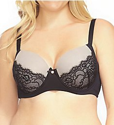 Creme Bralee Eye On Eye Eyelash Lace Trim Bra 17288