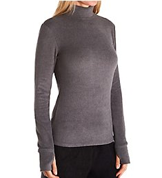 Cuddl Duds Fleecewear with Stretch Long Sleeve Mock Neck Top 8222265