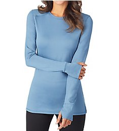 Cuddl Duds Thermawear Long Sleeve Crew Neck Shirt 8421136