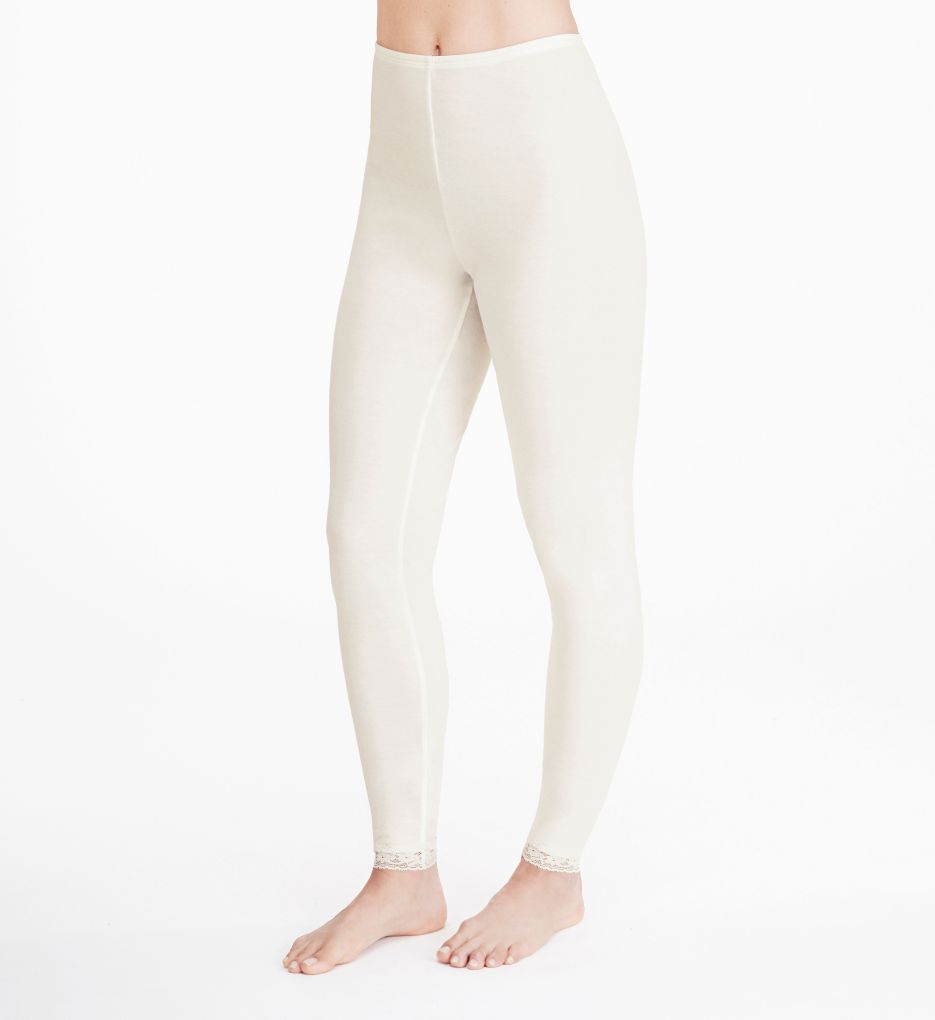 Cuddl Duds Softwear Lace Edge Legging 8617535