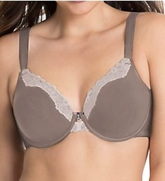 Curvy Couture Cotton Luxe Unlined Underwire T-shirt Bra 1009