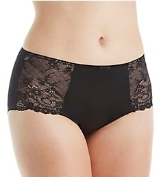 Curvy Couture Tulip Lace Boyshort Panty 1171