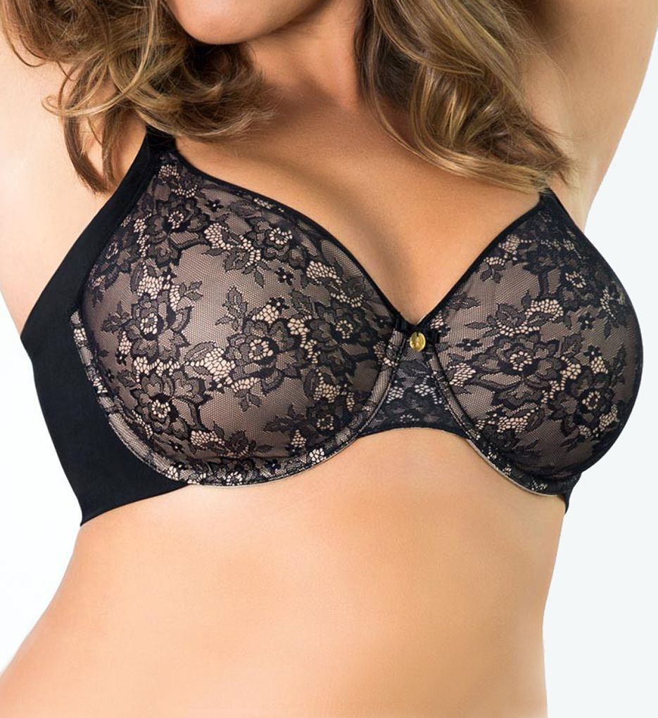 Curvy Couture Flawless Lace Side Smoother Bra 1172