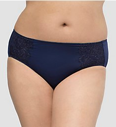 Curvy Couture Luminous Lace Hipster Panty 1275