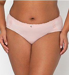 Curvy Couture Cotton Luxe Hipster Panty 1302