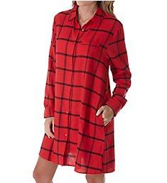 Donna Karan Sleepwear Flannel Nights Sleepshirt D236930