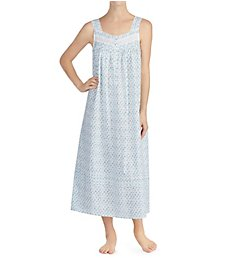 Eileen West Autumn Teal Cotton Lawn Ballet Nightgown 5219900