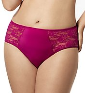 Elila Lace and Microfiber Panty 3503